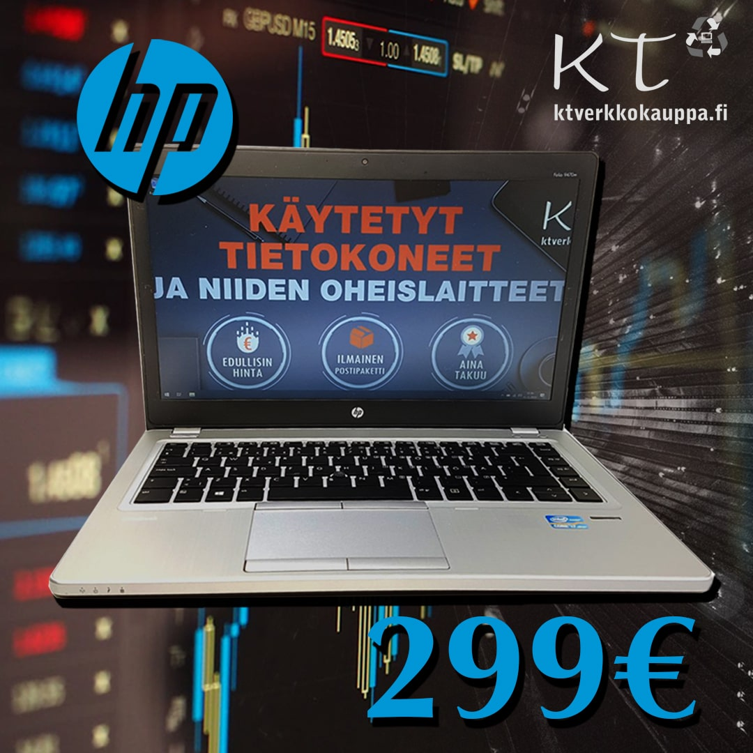 HP Elitebook Folio 9470m 14-näytöllä 299
