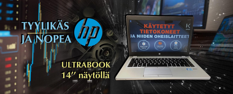 HP Elitebook Folio 9470m 14-näytöllä