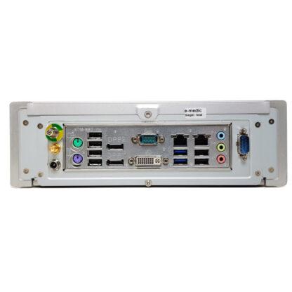 E-Medic Silence ST-M i7-4790T käytetty pöytäkone