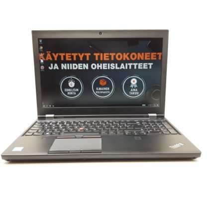 Lenovo ThinkPad P50 käytetty kannettava tietokone kt-trading 4