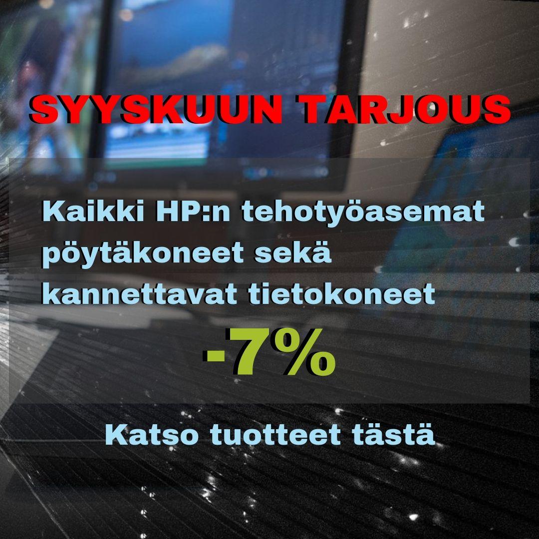 HP Tehokoneet Syyskuu Banneri Mobile