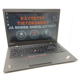 X1 Carbon G3 käytetty kannettava tietokone