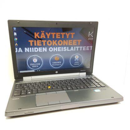 HP elitebook 8570w käytetty kannettava tietokone