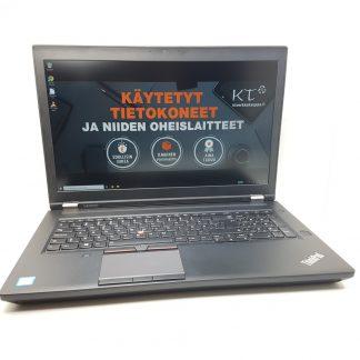 Lenovo ThinkPad P70 käytetty kannettava tietokone