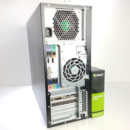 Pelikone G3 HP Z230 i7-4790 16GB GTX 1650 SUPER takaa