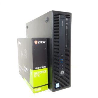 KT pelikonekokoopano G4 HP Prodesk 600 G2 SFF i7 6700 8GB 256+1TB 1650LP