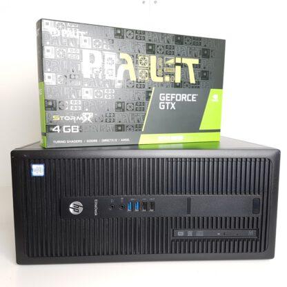 Pelikone G4 HP Elitedesk 800 G2 i7-6700 16 1650 super