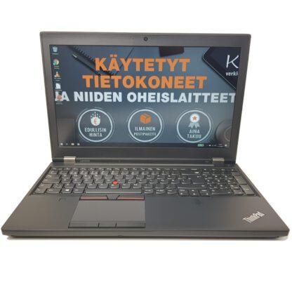Lenovo ThinkPad P50 käytetty kannettava tietokone