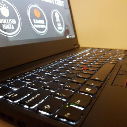 Lenovo ThinkPad W541 3K IPS käytetty kannettava tietokone