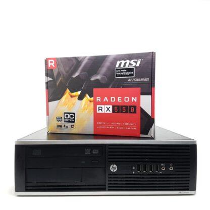 KT Pelikone G2 HP 8300 SFF RX550