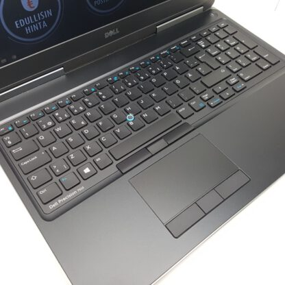 Dell Precision 7510 käytetty kannettava tietokone