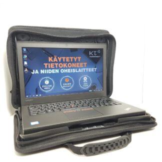 Lenovo ThinkPad X260 käytetty kannettava tietokone sekä suojalaukku