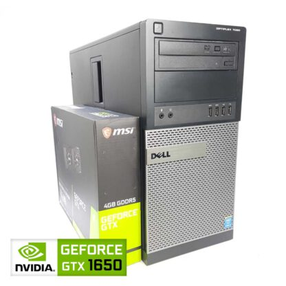 KT pelikone Dell Optiplex 7020 MT GTX 1650