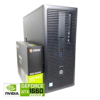KT Pelikone HP 800 G2 TWR GTX 1660 Super