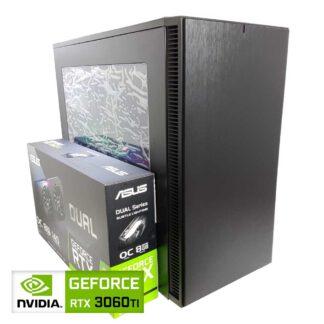 KT Custom pelikone RTX 3060TI 8GB