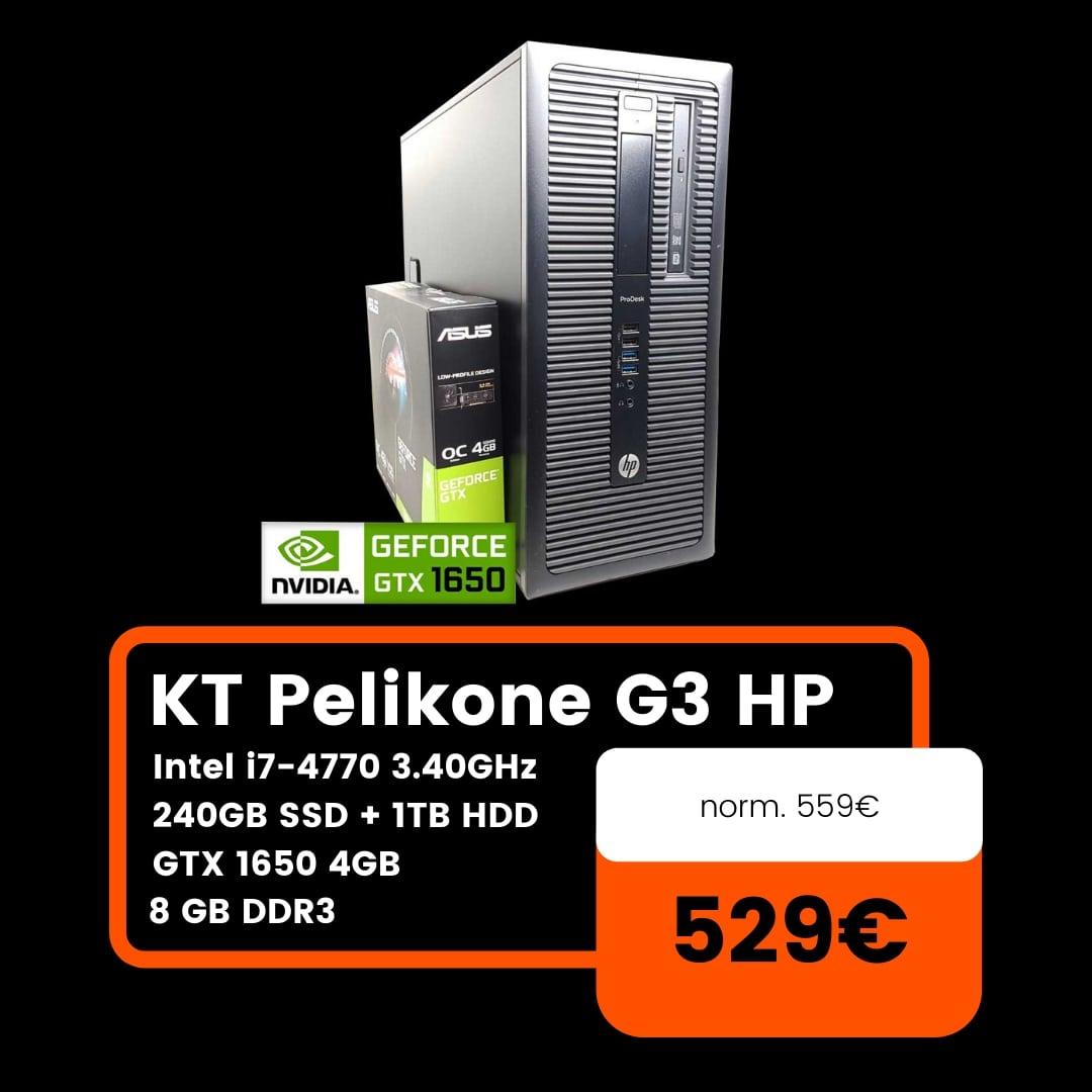 KT Pelikone HP 600 G1 SFF Neljas joulutarjous