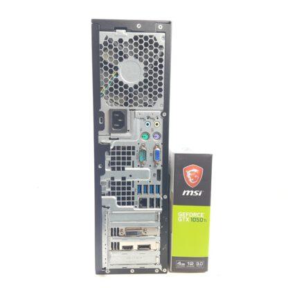 KT Pelikonepaketti HP 8300 SFF 23in FHD näyttö 3-in-1 gaming kit USB WIFi