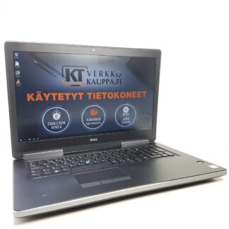 Dell Precision 7720 käytetty kannettava tietokone