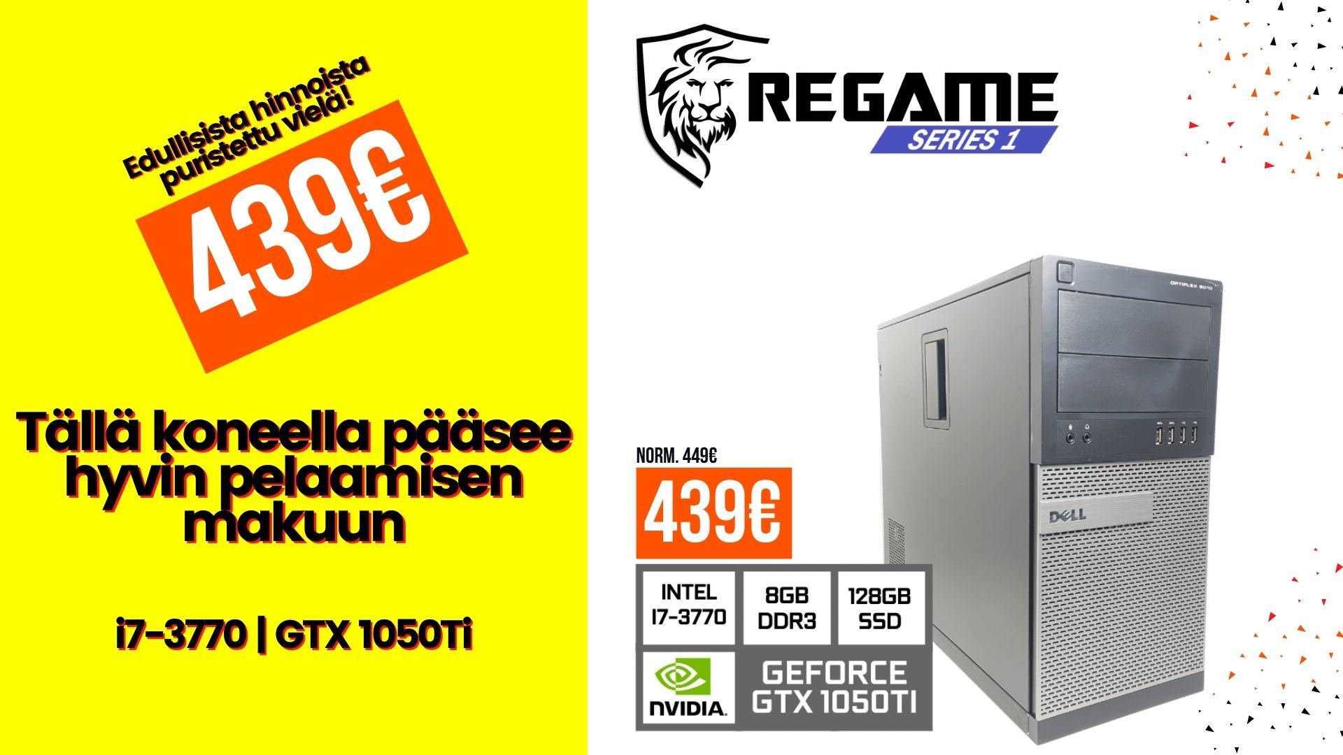 KT Regame Series 1 - Pelikone Dell 9010 Tarjous Desktop