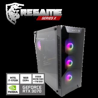 KT Regame Series X - Pelikone RTX 3070 i7 11700K
