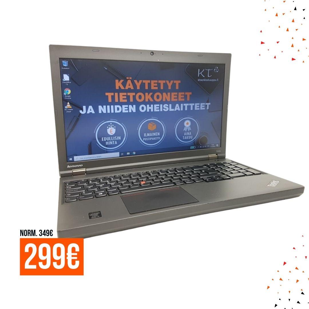 Lenovo ThinkPad T540P i5-4300M _ 8GB _ 256GB SSD _ 15.6″ FHD 1920 x 1080 _ Windows 10 _ A Mobile tarjous