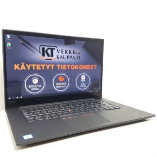 Lenovo ThinkPad X1 Extreme käytetty kannettava tietokone