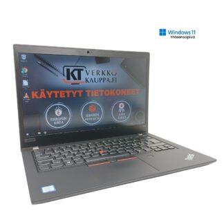 Lenovo-ThinkPad-T490-kaytetty-kannettava-tietokone Windows 11 yhteensopiva